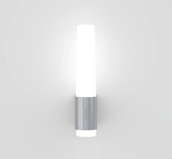 Nordlux 2015301033 Helva Night Wall Light in Chrome