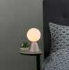 Dar Lighting FRA403 Francesca Table Lamp Pink Opal Glass