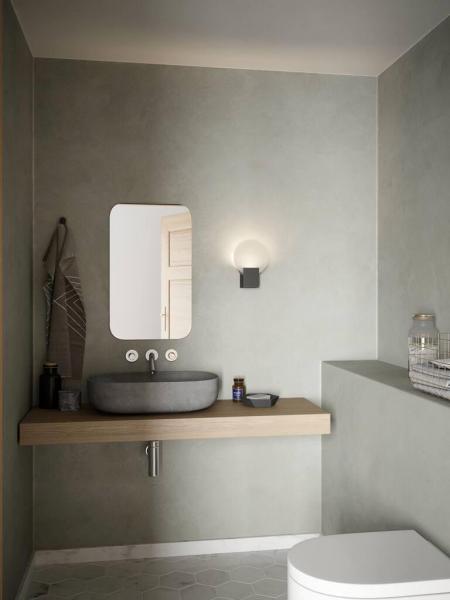 Nordlux 2015391033 Hester Wall Bathroom LED Light in Chrome