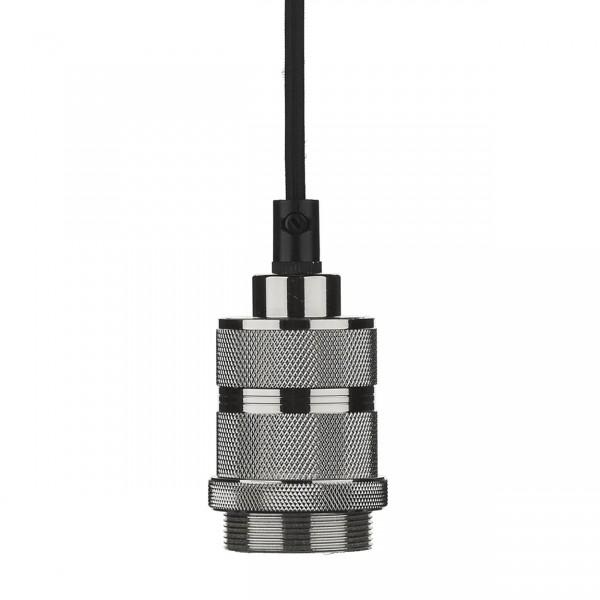 Dar Lighting SP8667 1 Light E27 Decorative Suspension Gun Metal