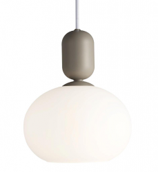 Nordlux 2011003010 Notti Pendant E27 Light in Gray