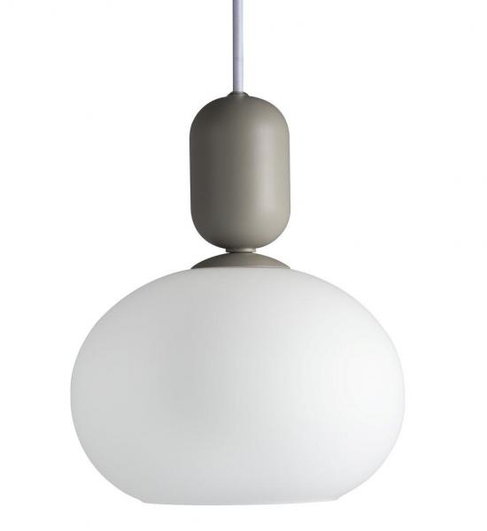 Nordlux 2011003010 Notti Pendant E27 Light in Gray