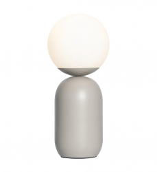 Nordlux 2011035010 Notti Table Lamp E14 in Gray