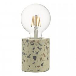 Dar Lighting ASI4055 Asim Table Lamp Terrazzo