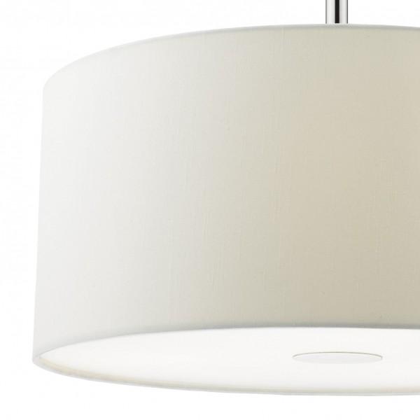 Dar Lighting RON102 Ronda 3 Light Pendant 40CM White