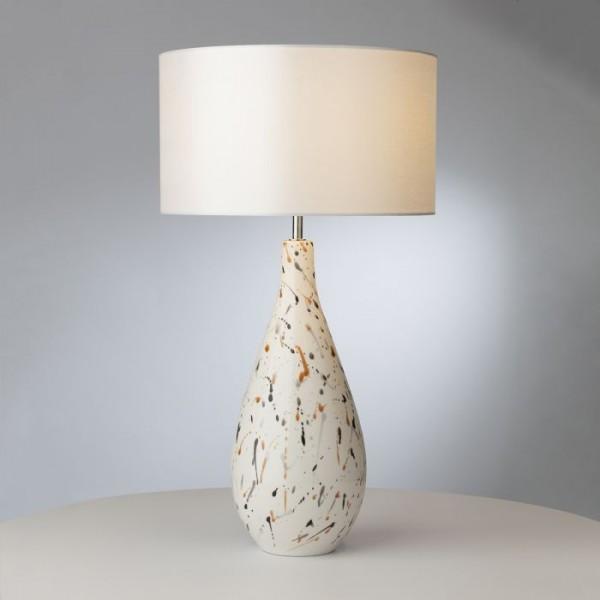 Dar Lighting OLK4229 Olka Table Lamp Ceramic & Brown Base Only