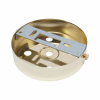 S. Lilley & Son D580/4P 100mm Five Hole Polished Brass Ceiling Plate