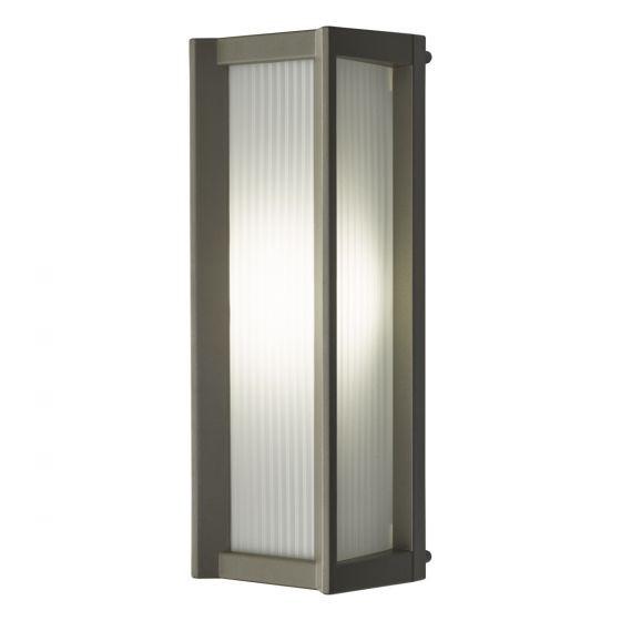 Dar Lighting ATA2122 Atala Wall Light Matt Black LED IP44