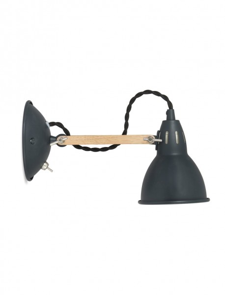 Garden Trading LAWO10 Bermondsey Grey Wall Light
