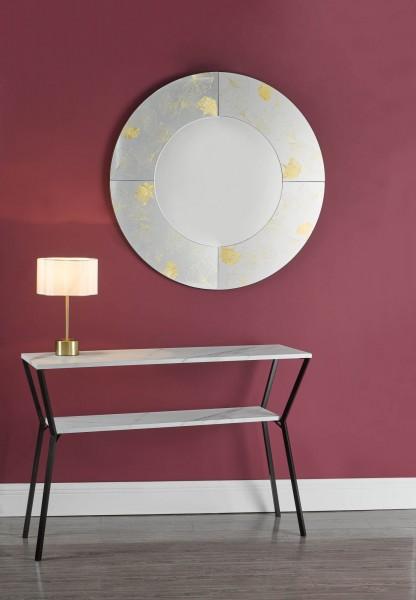 Dar Lighting LIL4241 Liliya Table Lamp Satin Brass With Shade