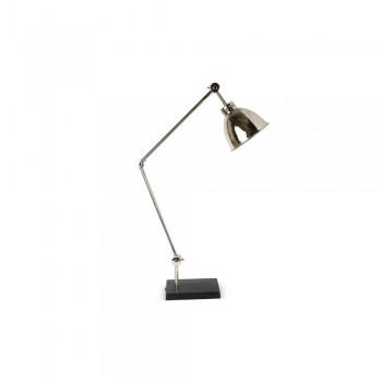 Culinary Concepts RG-DSK-NKBK Riga Desk Lamp Nickel/Black