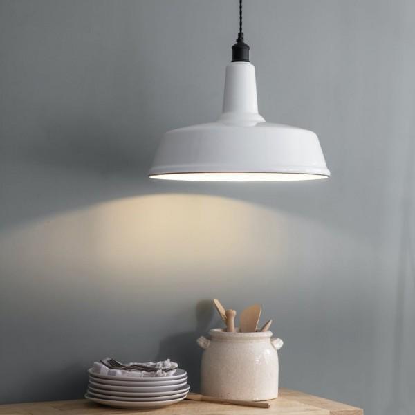 Garden Trading  LAEN03 Albion Pendant Light in White