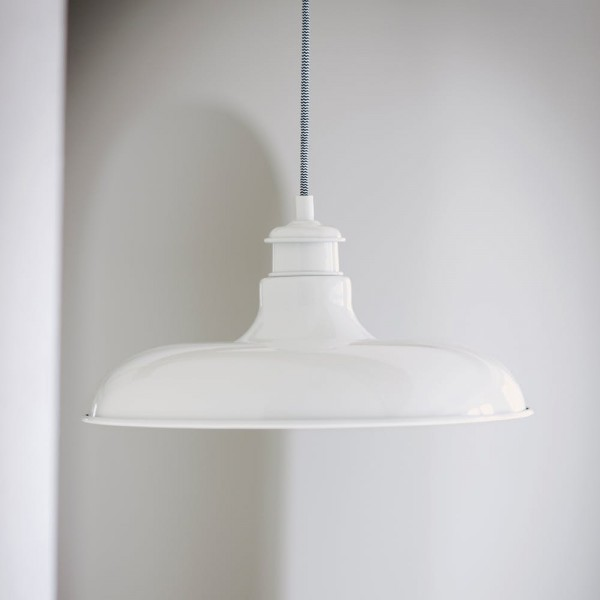 Garden Trading LACH01 Toulon Pendant Light In White