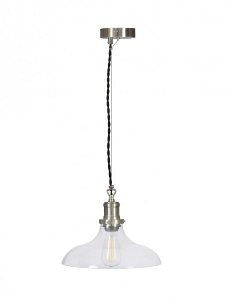 Garden Trading LAHO04 Large Hoxton Pendant Light in Satin Nickel