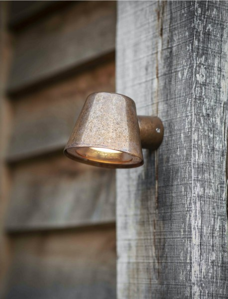 Garden Trading LAHP55 Outdoor Regent Mast Light in Raw Copper