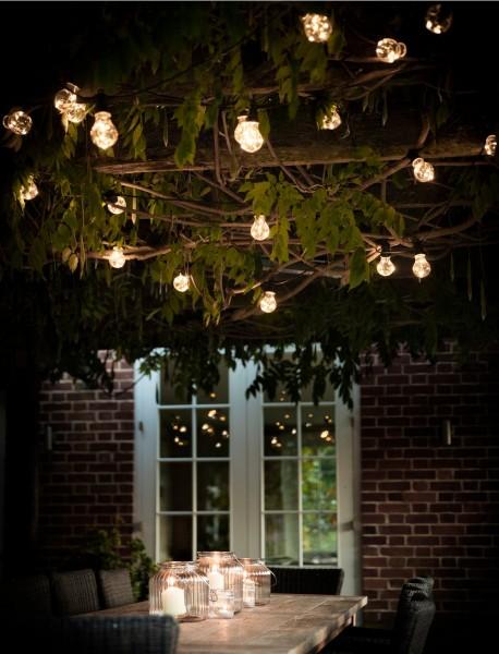 Garden Trading LAFE02 Classic Festoon lights in 20 Bulbs