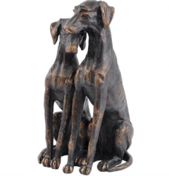 The Libra Company 703189 Mother & Puppy Dog's sculpture