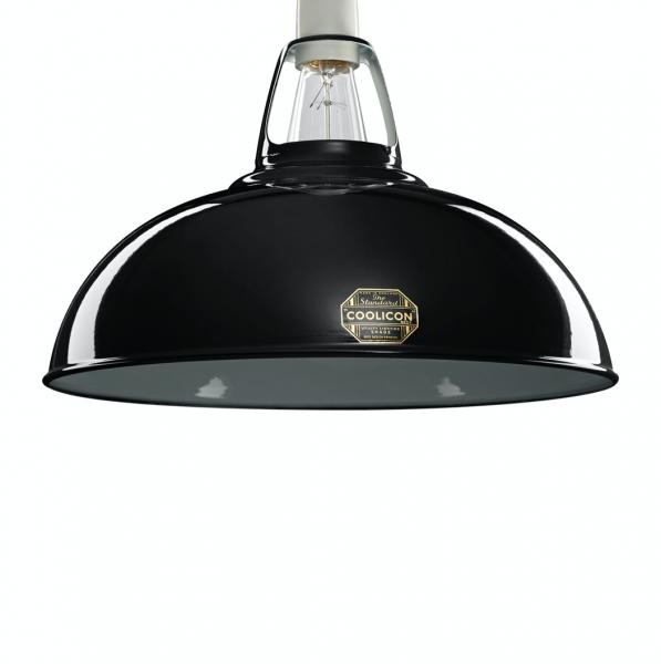 Coolicon Lighting BLK01 Jet Black Large 1933 Shade