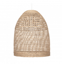 Pacific Lifestyle 33-062 Falmouth Natural Woven Tall Dome Pendant