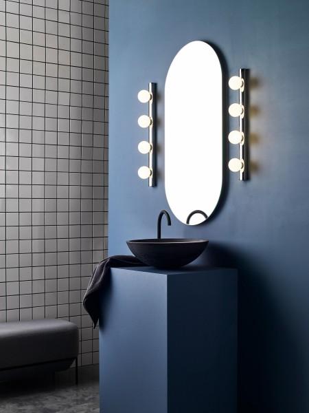 Astro Cabaret 4 II Bathroom Wall Light in Polished Chrome