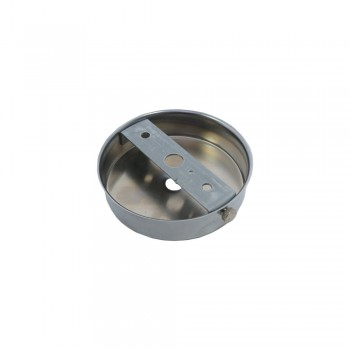 S. Lilley & Son Q040C 80mm Single Hole Chrome Ceiling Plate