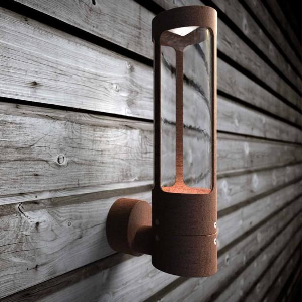 Nordlux 77479938 Helix Wall Light in Corten
