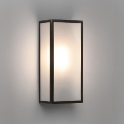 Astro 1183009 Messina Frosted Wall Light in Bronze