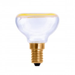 Segula 50041 Floating Line 4W 2200K Dimmable E14 Clear Floating Reflector R50 LED Bulb