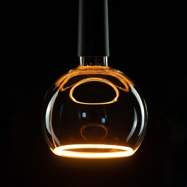 Segula 50047 Floating Line 8W 2200K Dimmable E27 Clear Floating Globe 150 LED Bulb