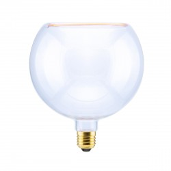 Segula 50048 Floating Line 8W 2200K Dimmable E27 Clear Floating Globe 200 LED Bulb