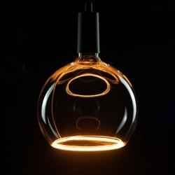 Segula 50048 Floating Line 8W 2200K Dimmable E27 Clear Floating Globe 200 LED Bulb