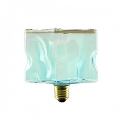 Segula 50049 Floating Line 8W 4000K Dimmable E27 Blue Floating Ice Cube LED Bulb