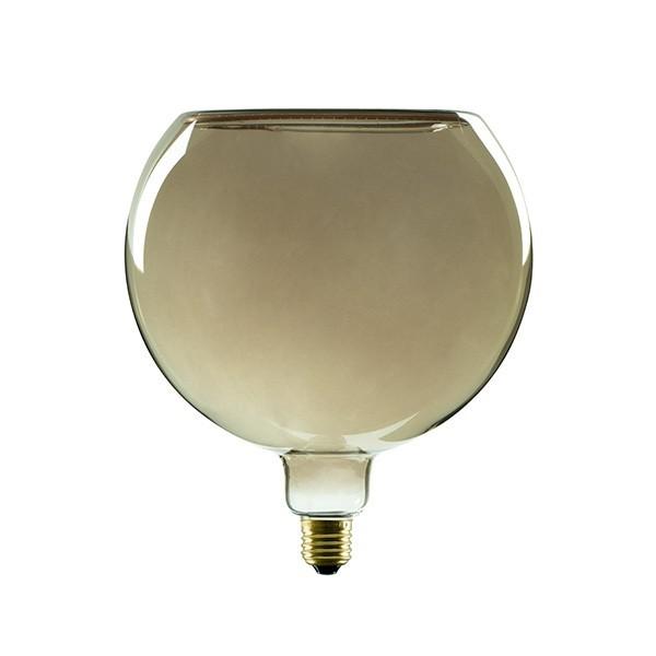 Segula 50058 Floating Line 8W 2200K Dimmable E27 Smokey Grey Floating Globe 200 LED Bulb