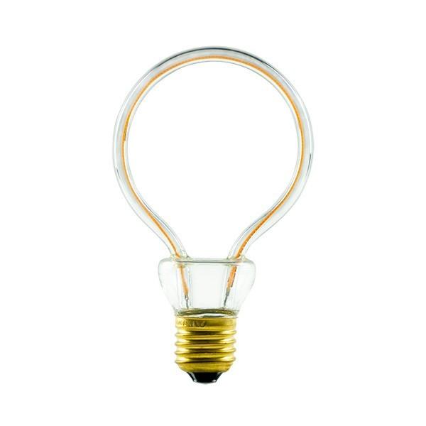 Segula 50144 Art Line 8W 2200K Dimmable E27 Clear Globe LED Bulb
