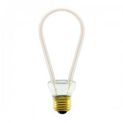 Segula 50145 Art Line 8W 2200K Dimmable E27 Clear Rustica LED Bulb