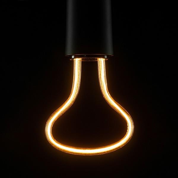 Segula 50146 Art Line 8W 2200K Dimmable E27 Clear Reflector LED Bulb