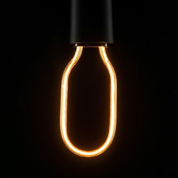 Segula 50147 Art Line 8W 2200K Dimmable E27 Clear Tube LED Bulb