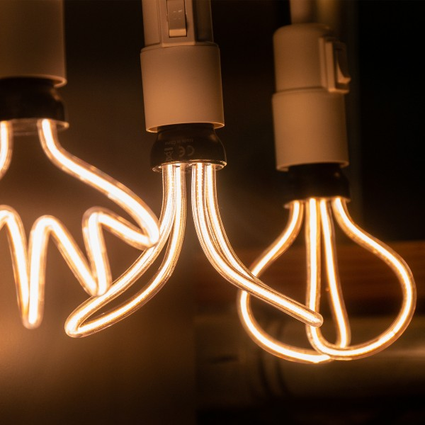 Segula 50151 Art Line 12W 2200K Dimmable E27 Clear Butterfly LED Bulb