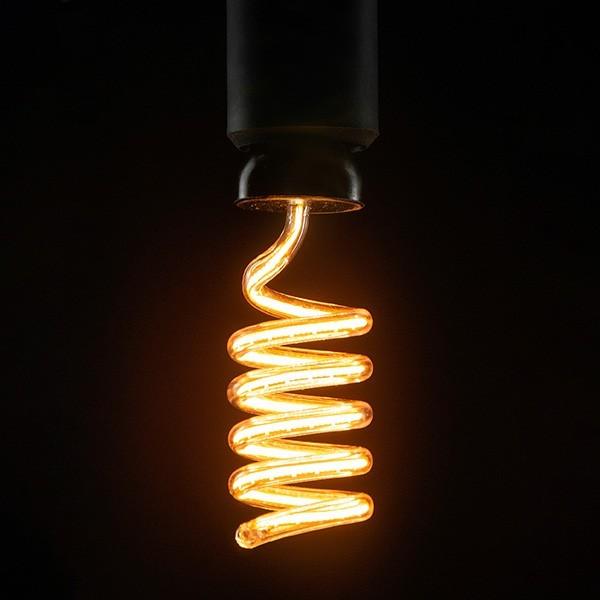 Segula 50156 Art Line 12W 2200K Dimmable E27 Clear Loop Up LED Bulb