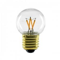 Segula 50209 Vintage Line 2.2W 2200K Dimmable E27 Clear Golfball LED Bulb