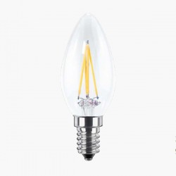 Segula 50241 Ambient Line 4W 2000-2900K Dimmable E14 Clear Candle LED Bulb