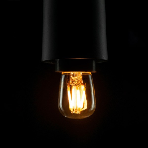 Segula 50263 Vintage Line 1.5W 2200K Dimmable E14 Clear LED Refrigerator Bulb