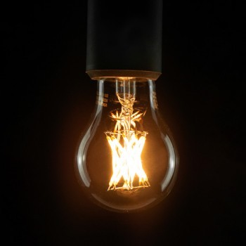 Segula 50337 Vintage Line 8W 2600K Dimmable E27 Clear LED Bulb