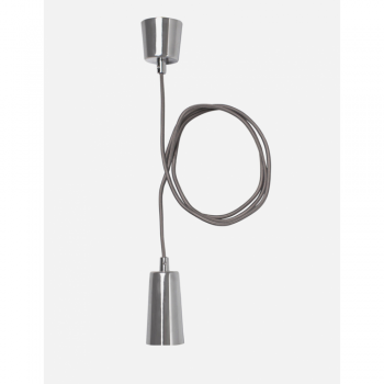 Plumen CHDCP Chrome Drop Cap Pendant Set