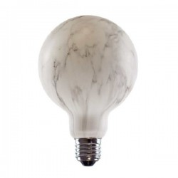 Segula 50778 Vintage Line 8W 4400K Dimmable E27 Marbled Globe 95 LED Bulb