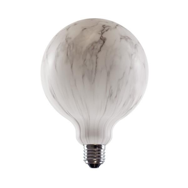 Segula 50779 Vintage Line 8W 4400K Dimmable E27 Marbled Globe 125 LED Bulb