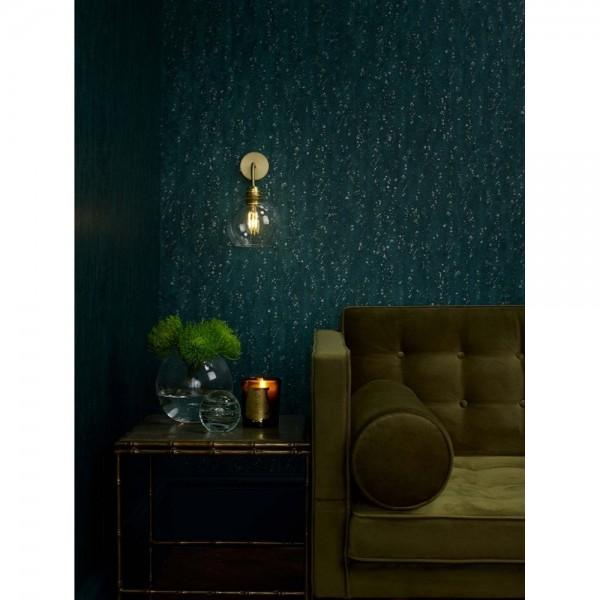 David Hunt APO0740 APOLLO Single wall light in butter brass