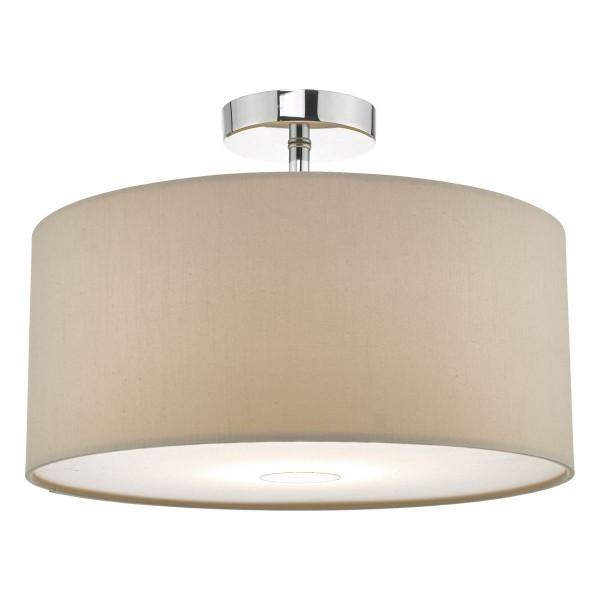 Dar Lighting RON6529 Ronda 40cm Easyfit Pendant Ecru