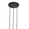Nordlux 2010473003 Tilo 3-Light GU10 Pendant in Black