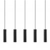 Nordlux 2010483003 Tilo 5-Pendant GU10 in Black